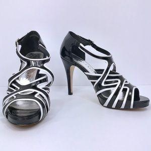 White House Black Market Strappy Platform Sandals